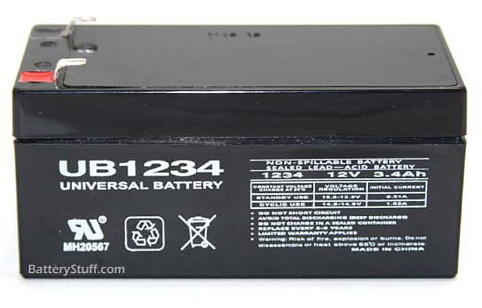 Steal Armor Replacement Battery