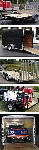 Protects open and enclosed trailers
